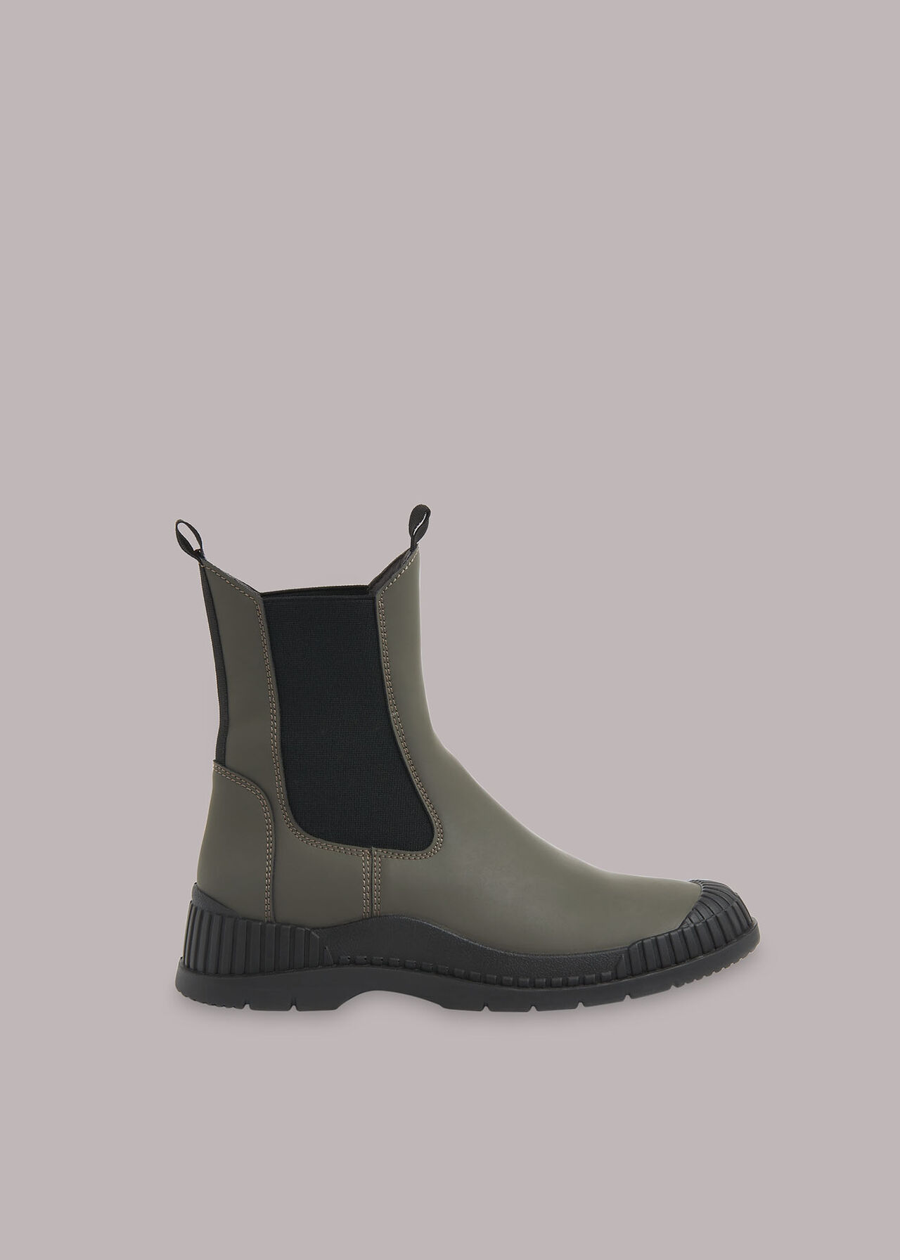 Denver Rubberised Leather Boot