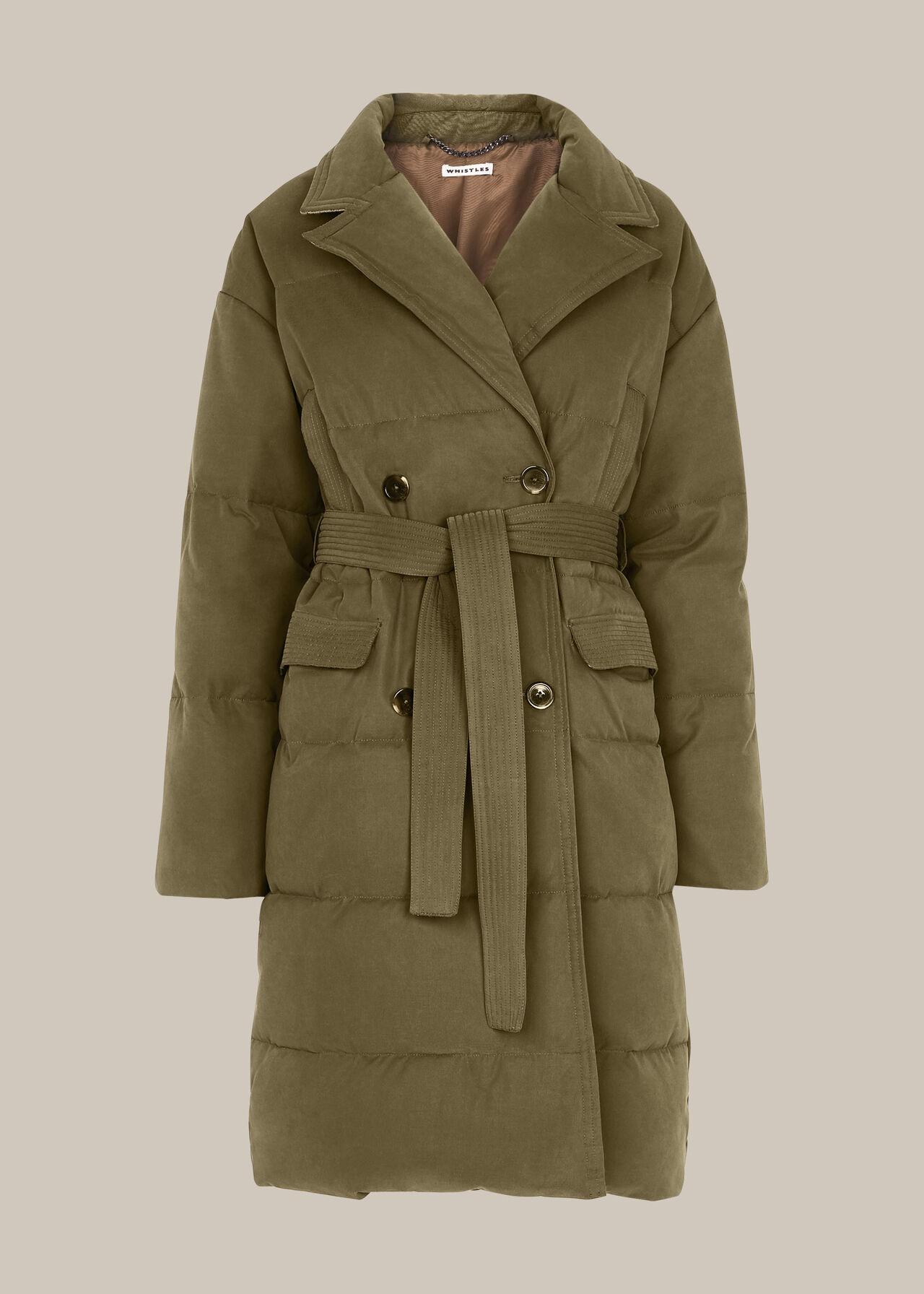 Trench Puffer Coat