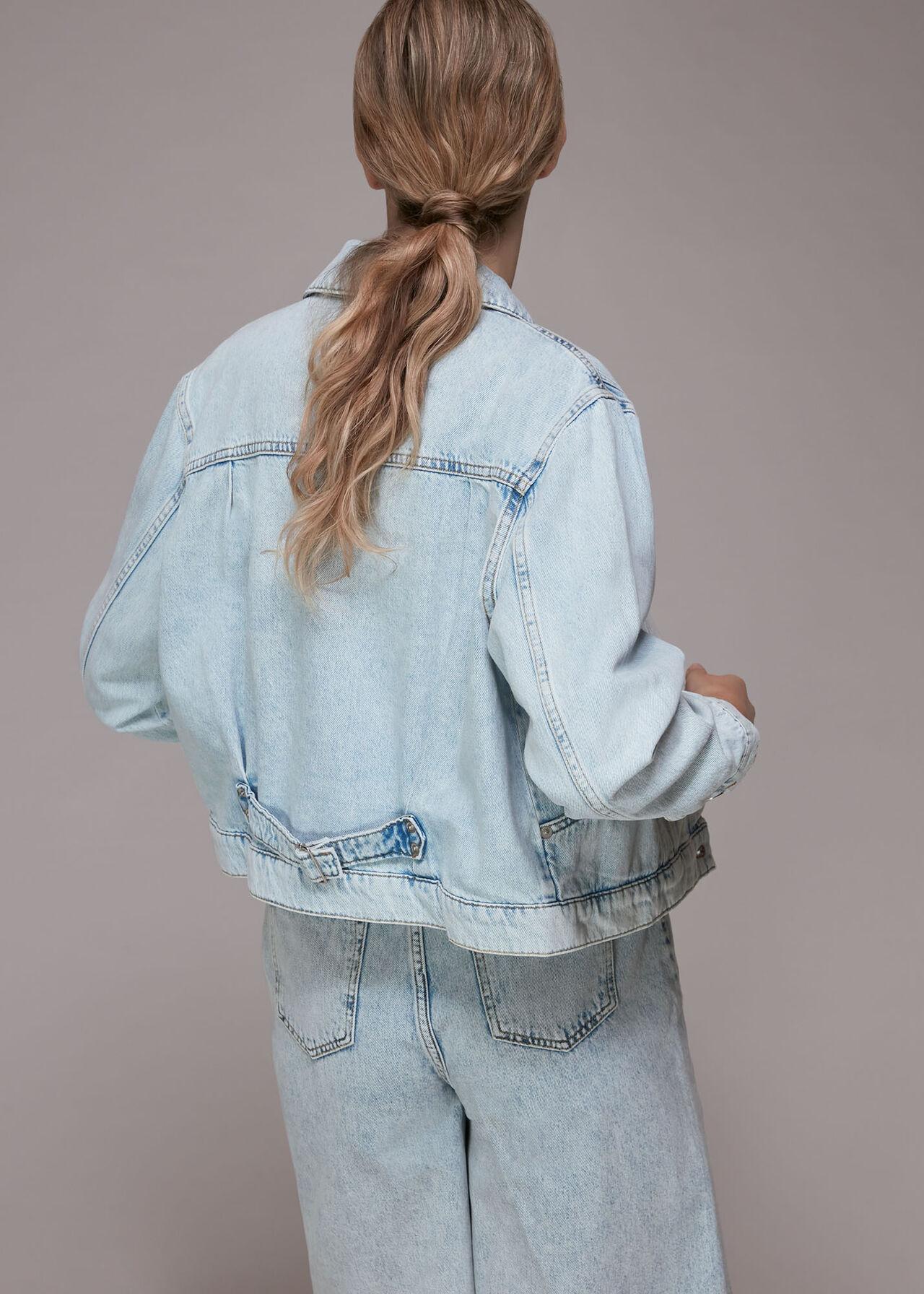 Acid Wash Classic Denim Jacket