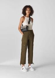 Steffi Utility Cargo Trouser Khaki