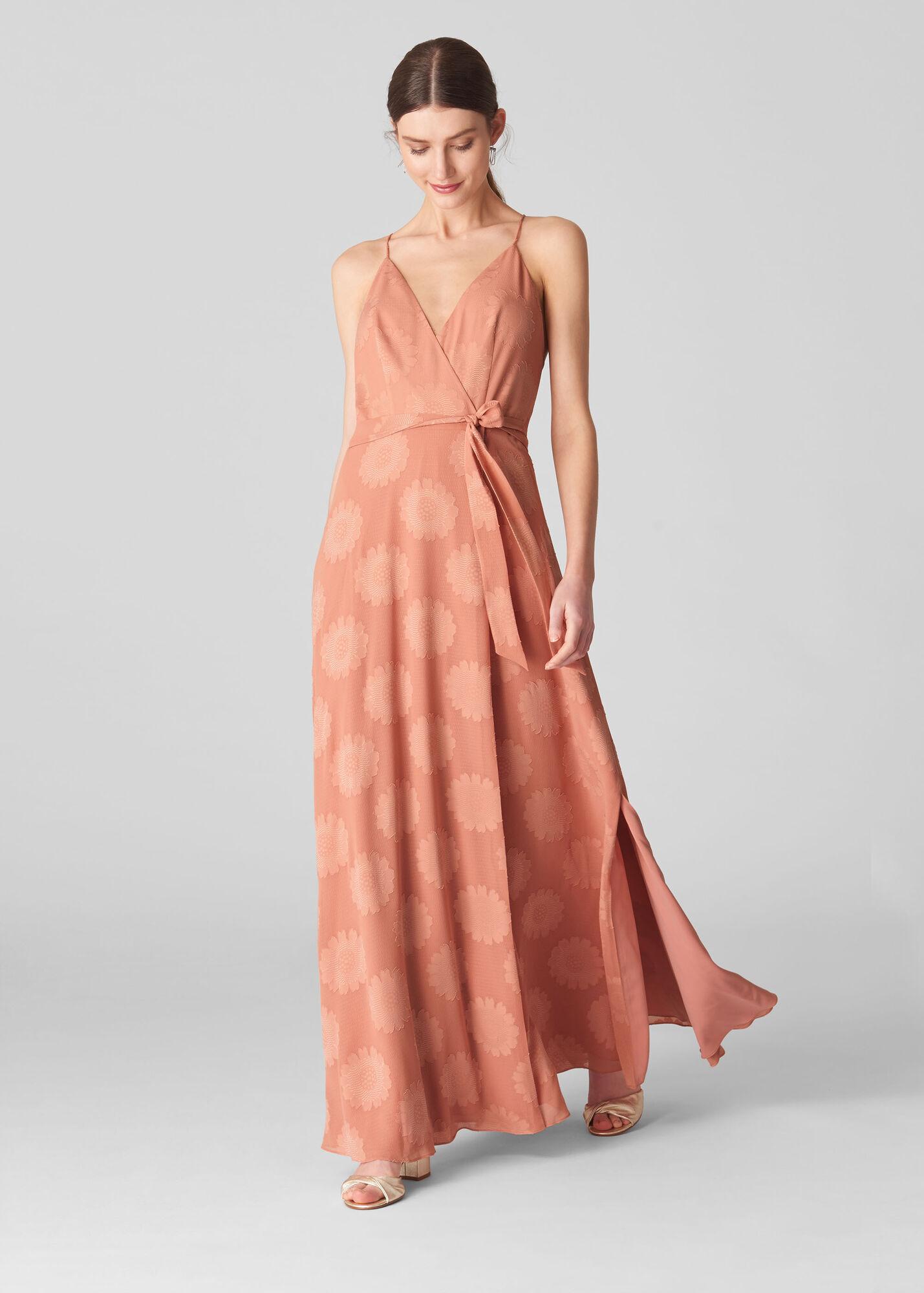 Noa Jacquard Maxi Dress