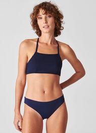 Pippa Minimal Bikini Top Navy