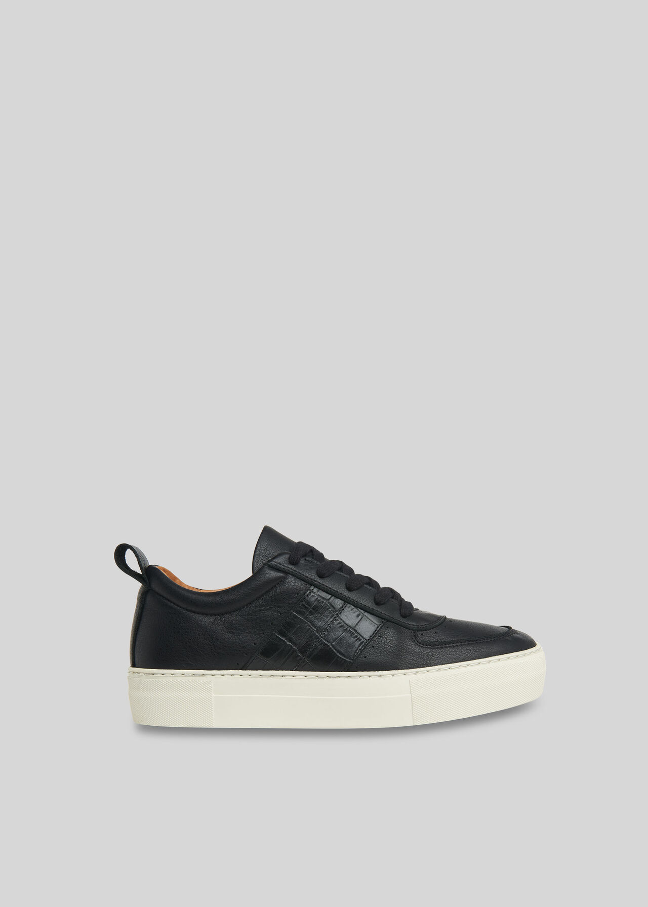 Anna Deep Sole Trainer Black