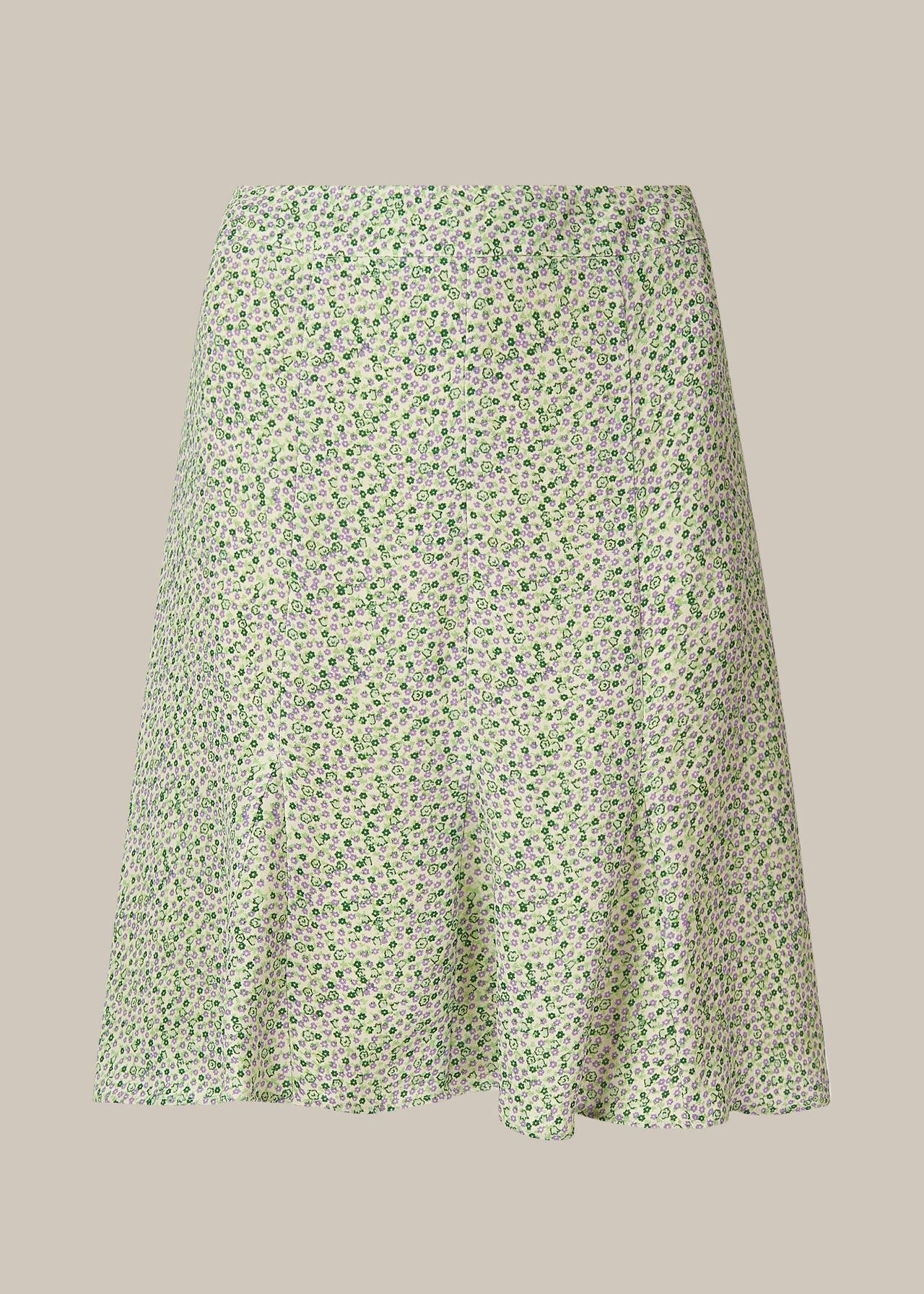 English Garden Flippy Skirt Green/Multi
