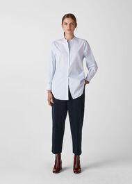 Stripe Eileen Shirt White/Multi