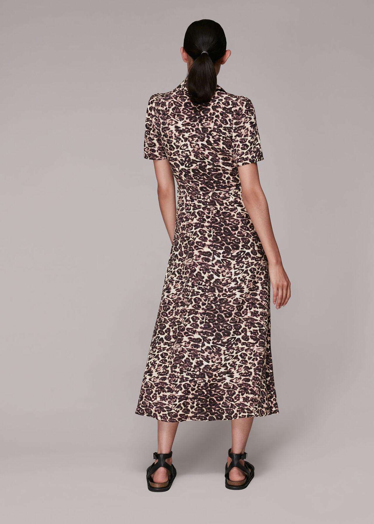 Rowan Clouded Leopard Dress