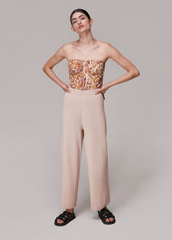 Knitted Wide Trousers