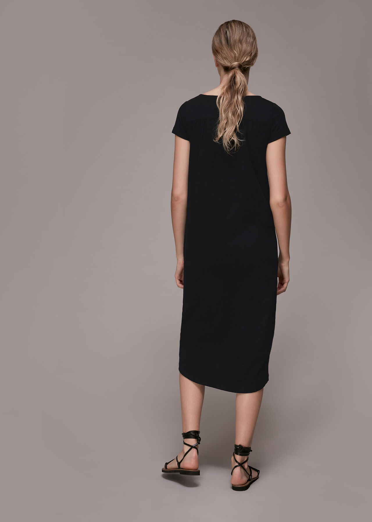 Leonie Button Through Dress