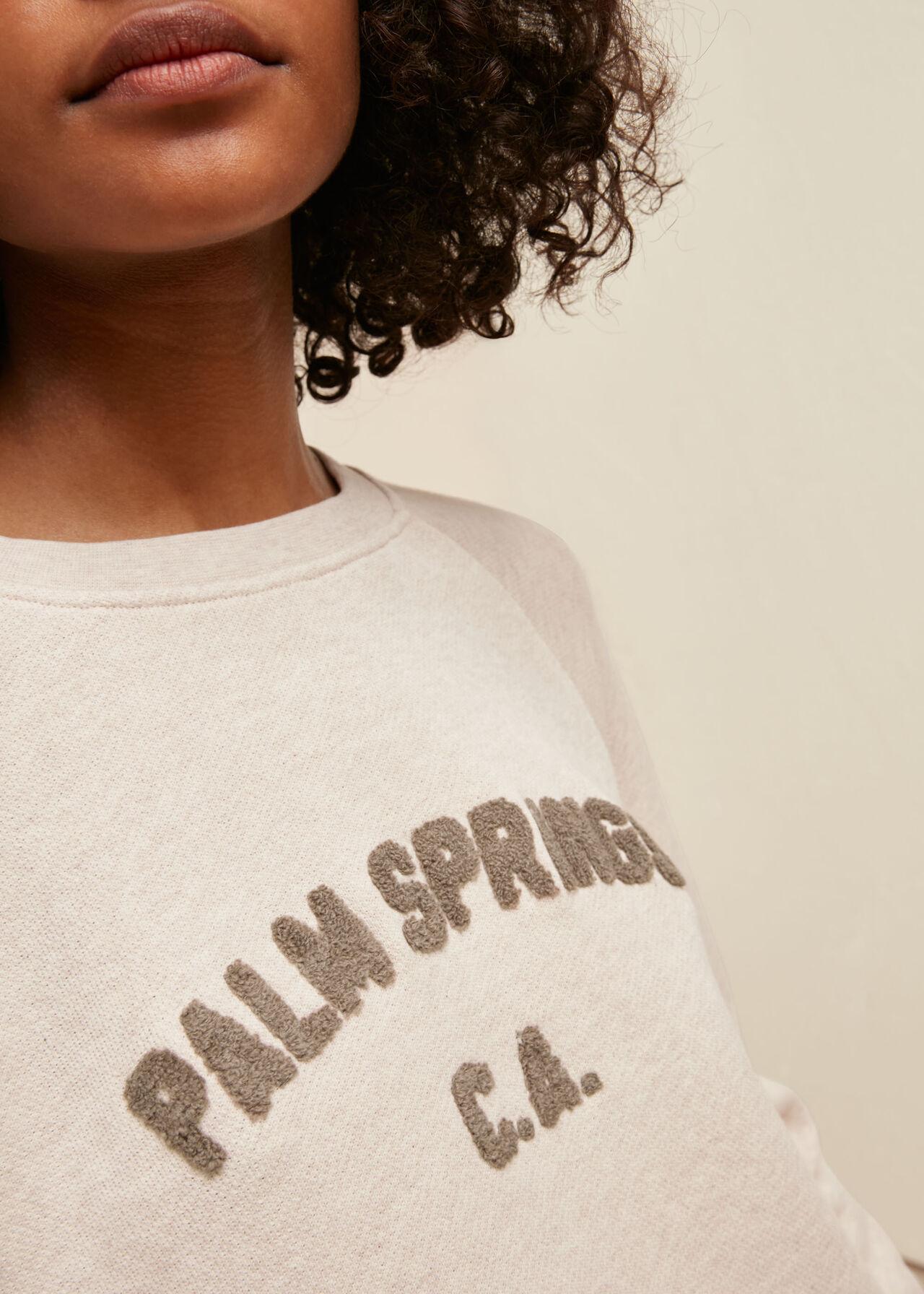 Palm Springs Logo Sweatshirt