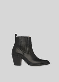 Allington Western Boot Black