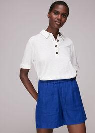 Elasticated Waist Linen Short
