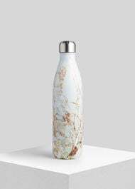 Swell Large Marble Bottle Black and White