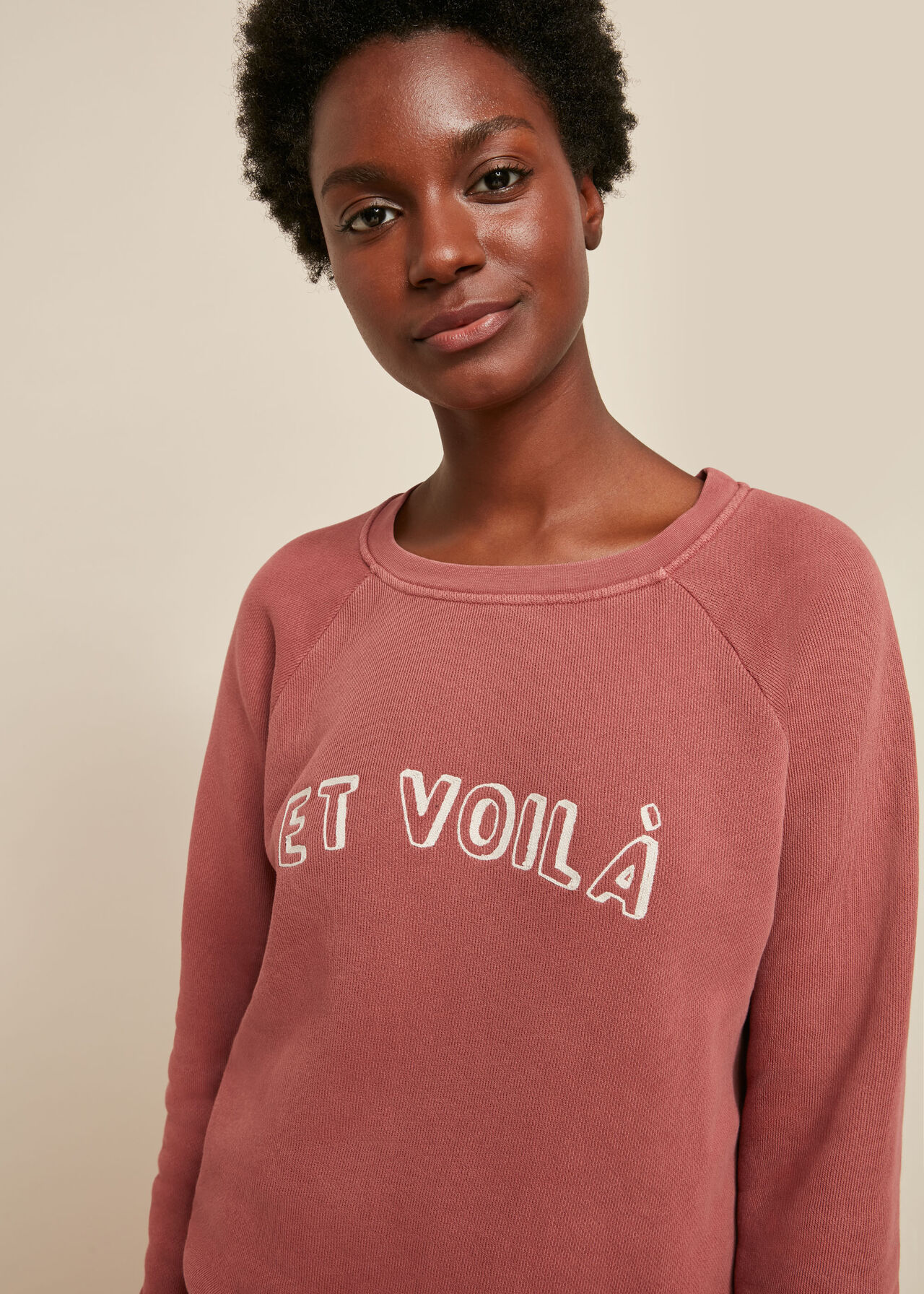 Et Voila Logo Sweatshirt
