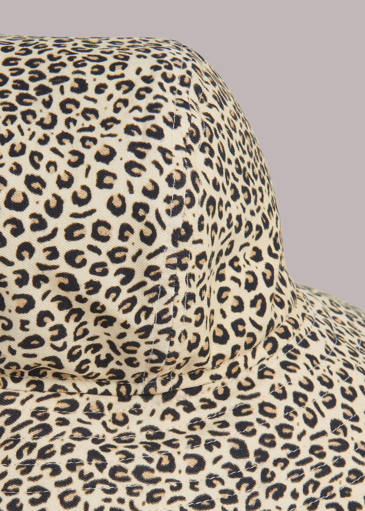 Mini Leopard Print Bucket Hat