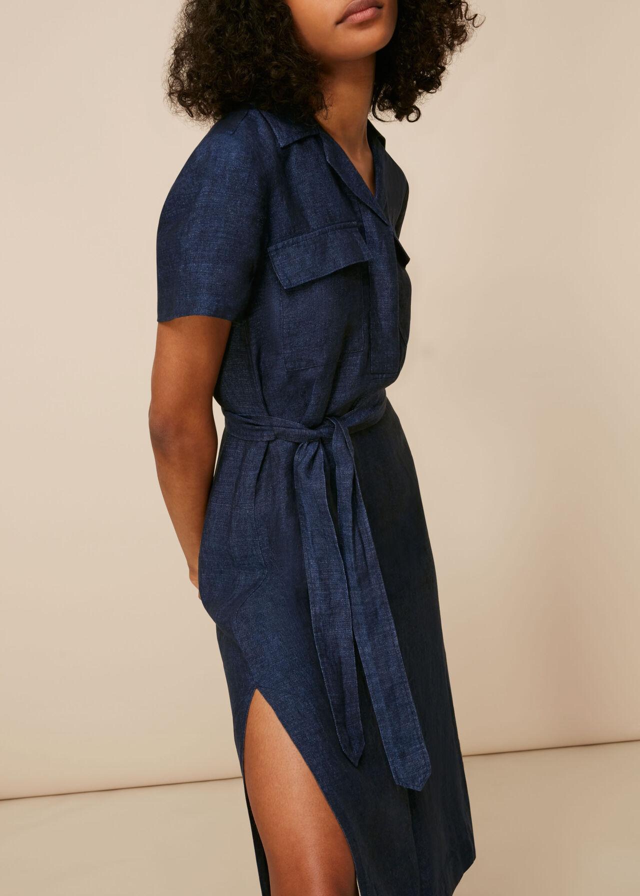 Easy Linen Shirt Dress