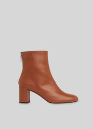 Bartley Back Zip Boot Tan