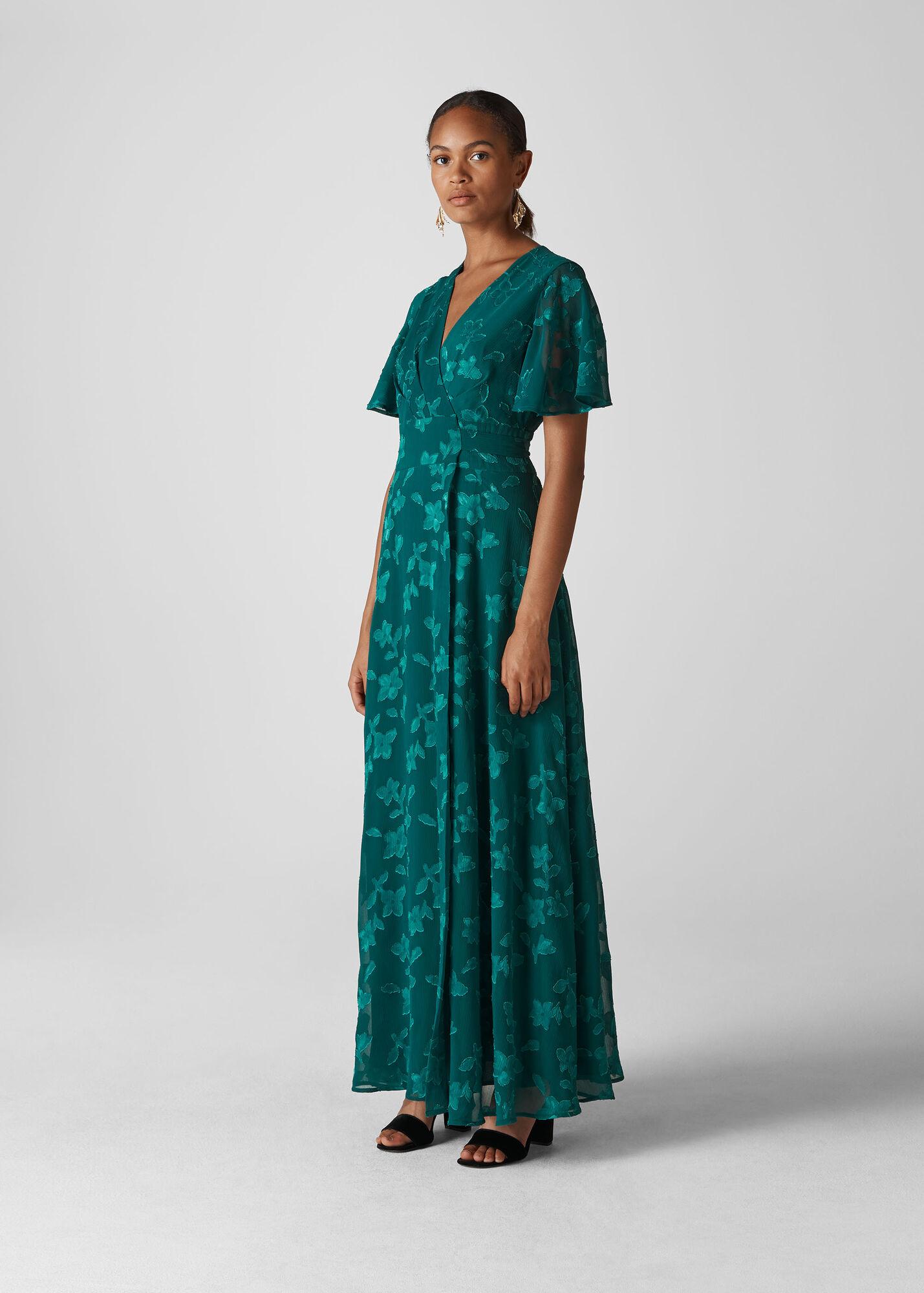 Robyn Jacquard Maxi Dress