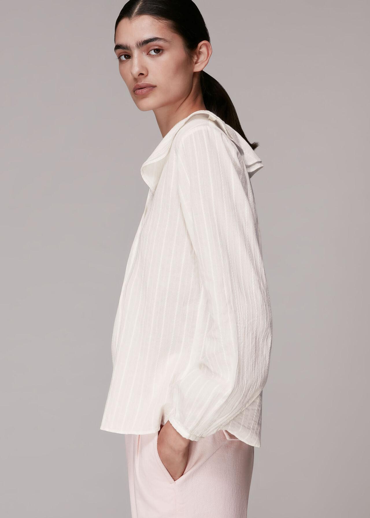 Darcie Cotton Collar Top