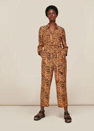 Safari Print Jumpsuit