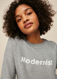 Modernist Logo Sweatshirt