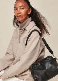 Leonie Gathered Shoulder Bag