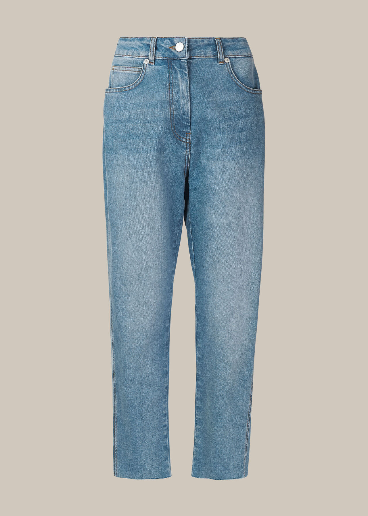 Slim Fray Detail Jean