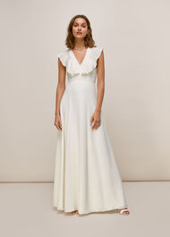 Eve Silk Wedding Dress White