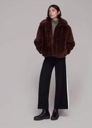 Drew Faux Fur Coat