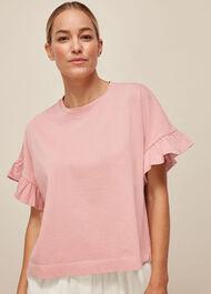 Cotton Frill Tshirt