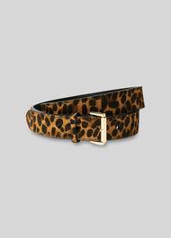 Leopard Print Belt Leopard Print