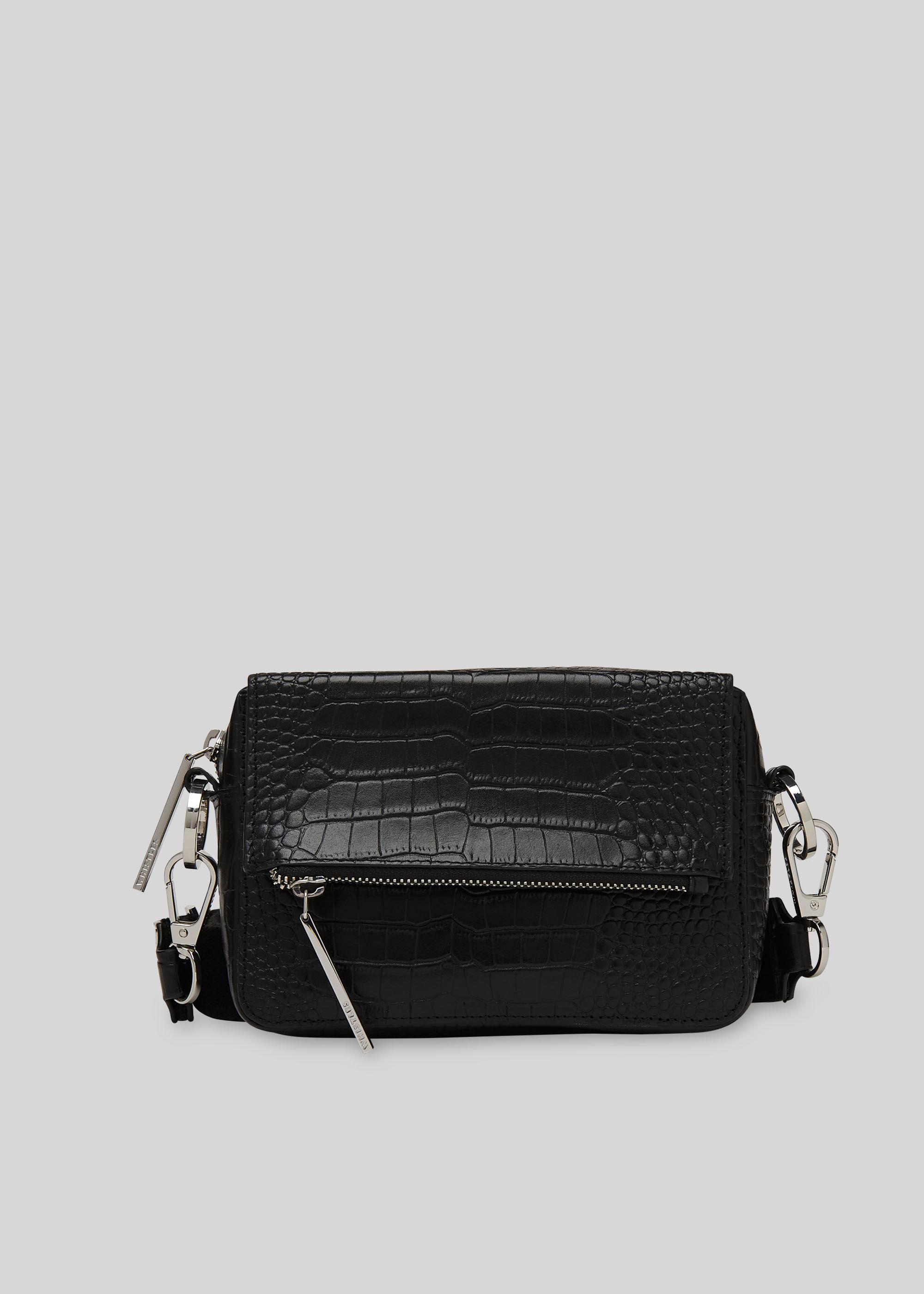 Whistles Women Millie Croc Crossbody Bag