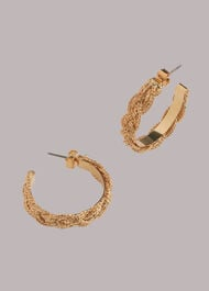 Plaited Hoop Earring