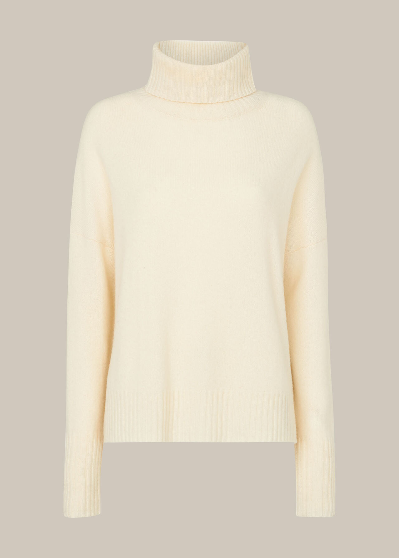 Roll Neck Wool Knit