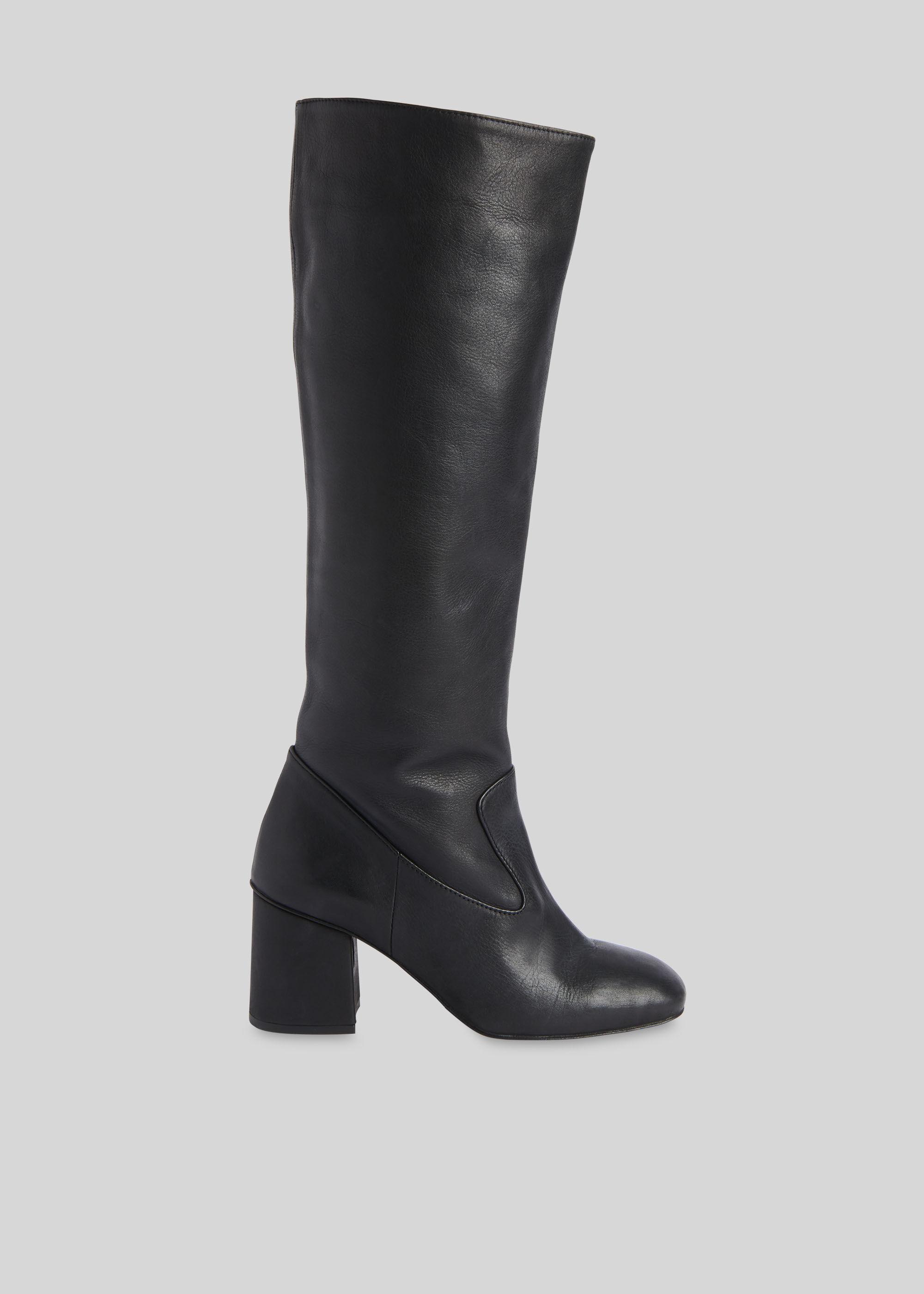 Black Hazel Knee High Boot | WHISTLES