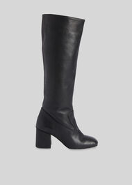Hazel Knee High Boot Black