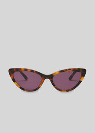 Hart Cat Eye Sunglasses Brown/Multi