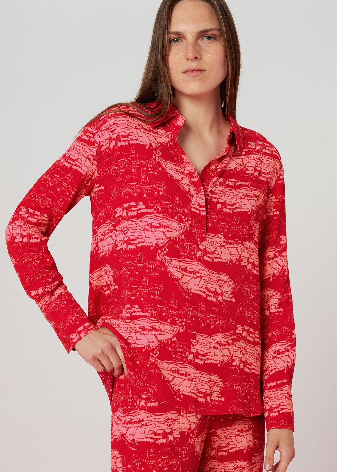 Field Print Shirt