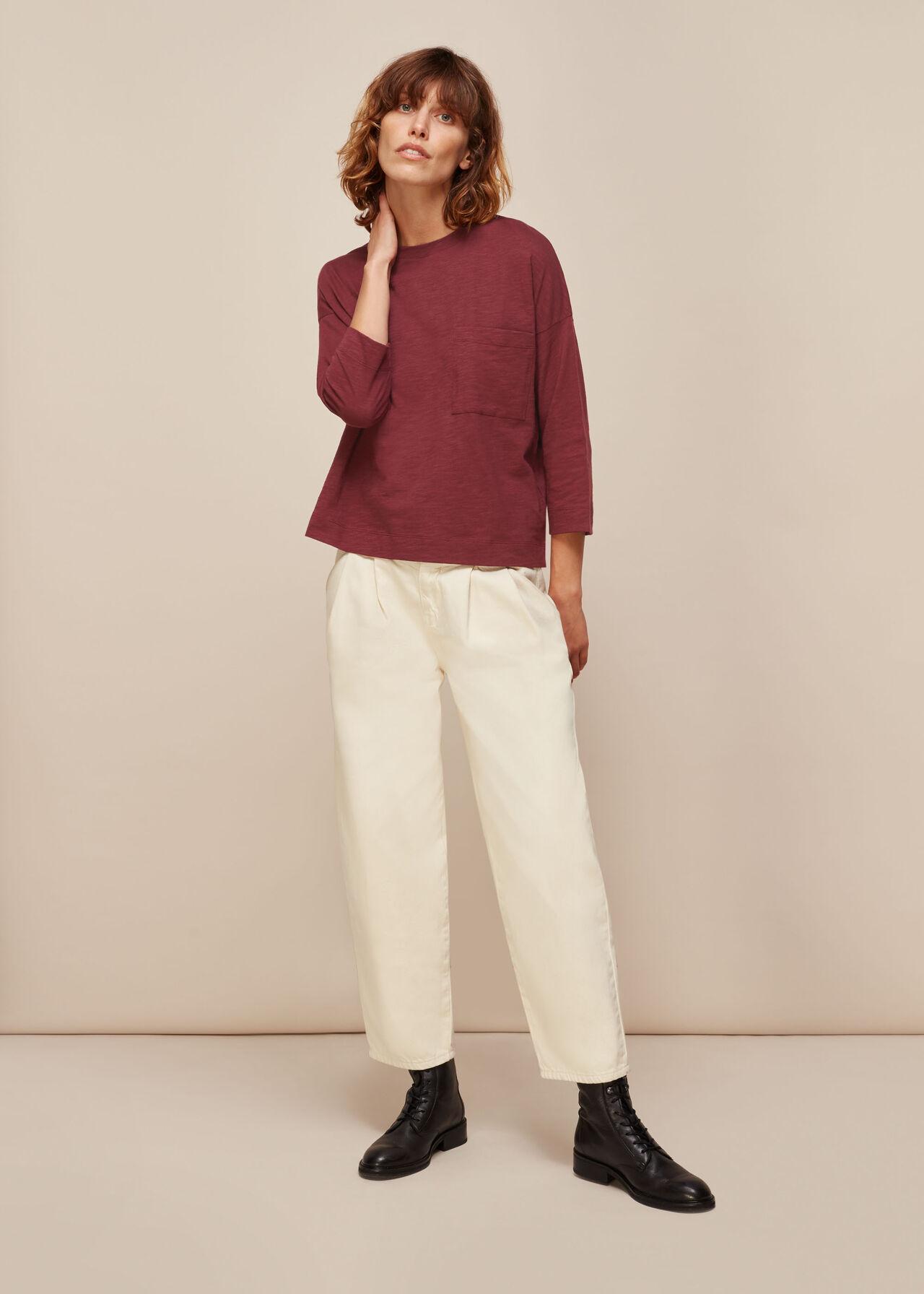 Cotton Pocket Top