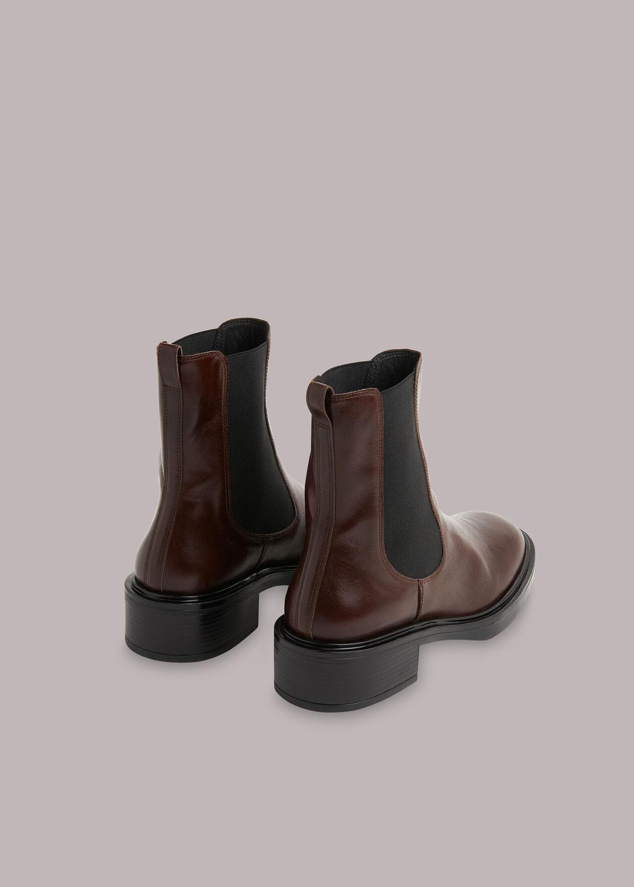 Rue Elasticated Chelsea Boot