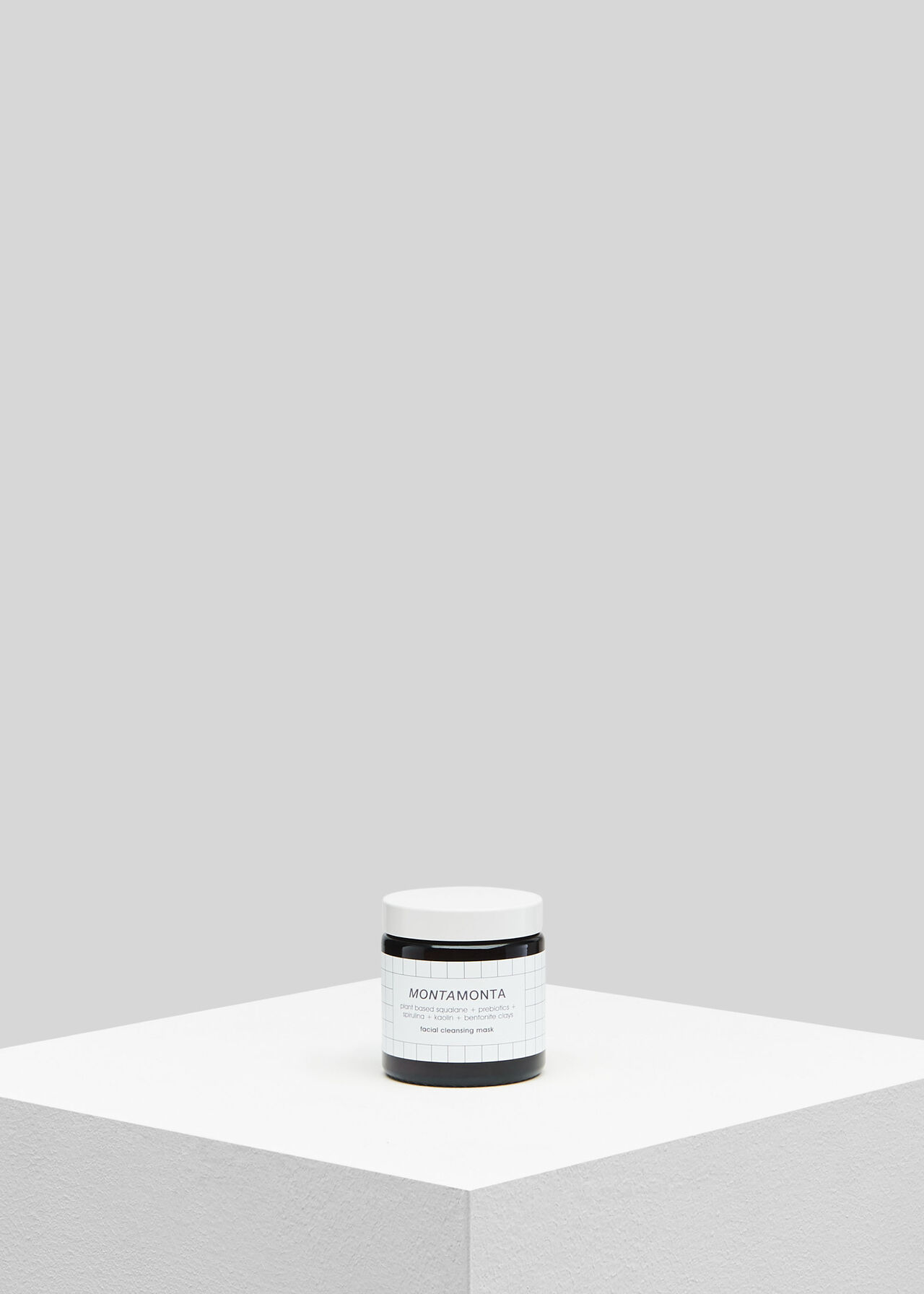 Montamonta Cleansing Mask Black and White