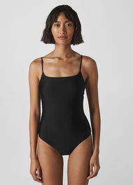 Strappy Swimsuit Black