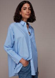 Stripe Oversized Shirt