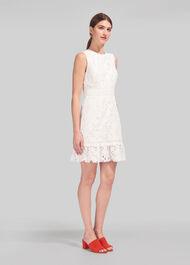 Ella Lace Dress White