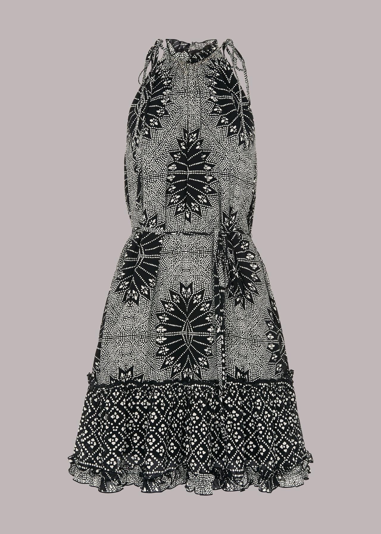 Bleached Trapeze Dress