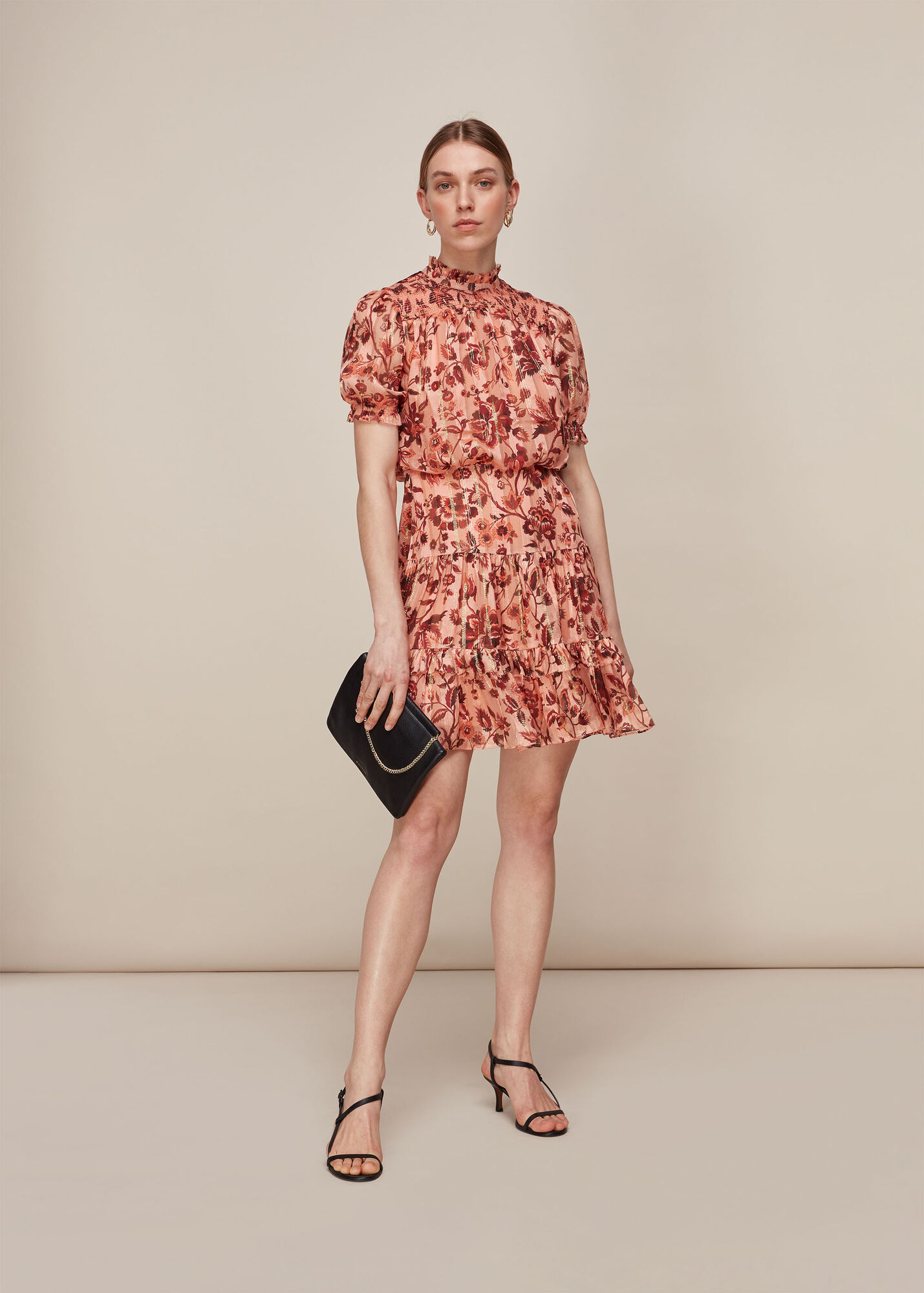 Sophia Prairie Silk Dress