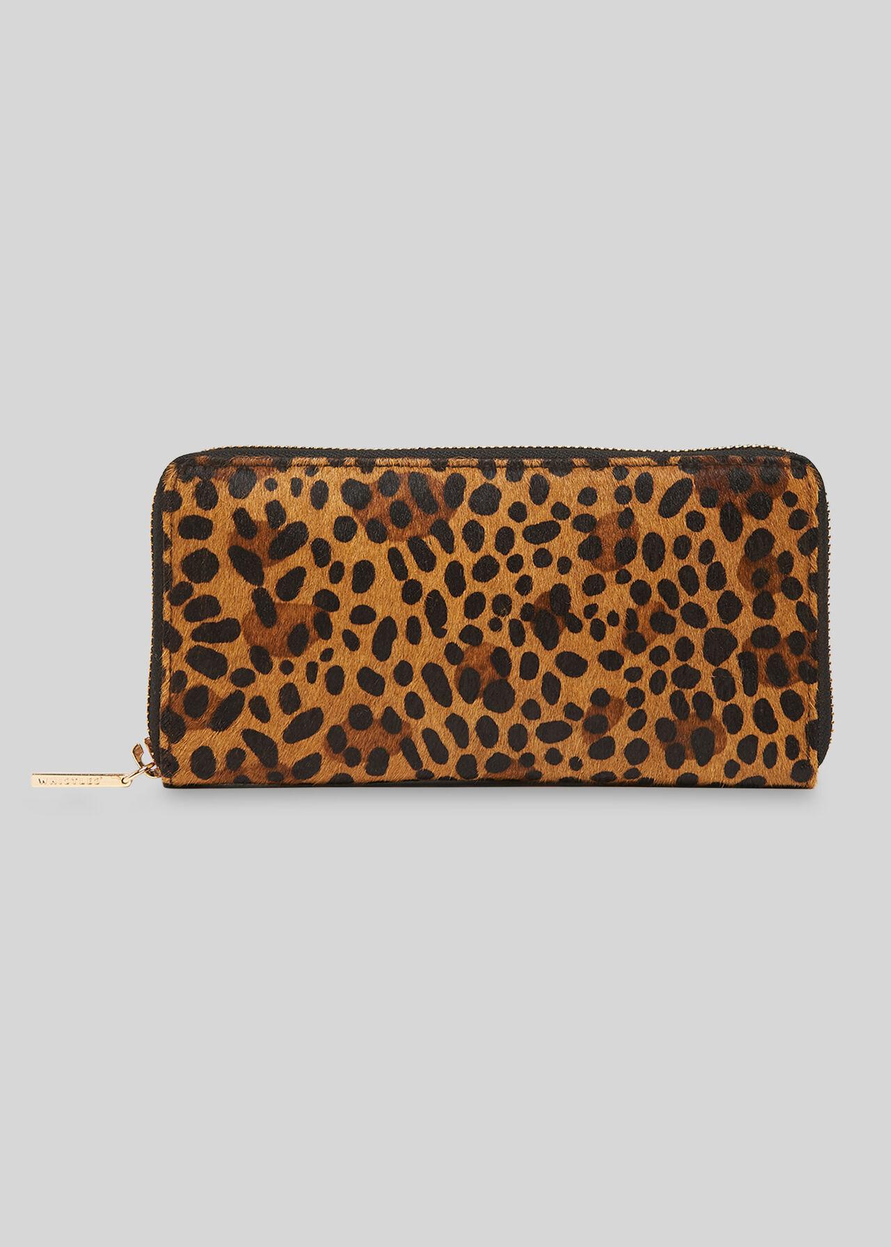 Reigate Leopard Wallet Leopard Print