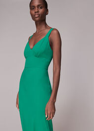 Rachael Sleeveless Dress Green