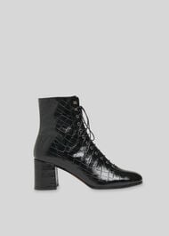 Alban Lace Up Boot Black