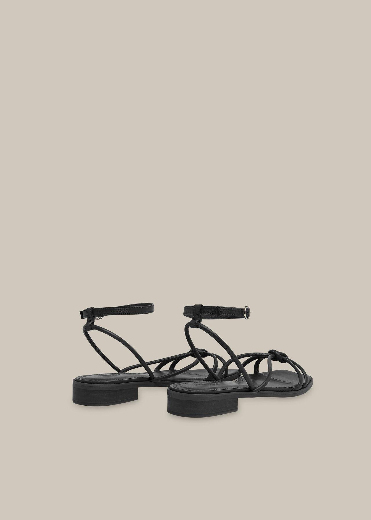 Roya Flat Strappy Sandal