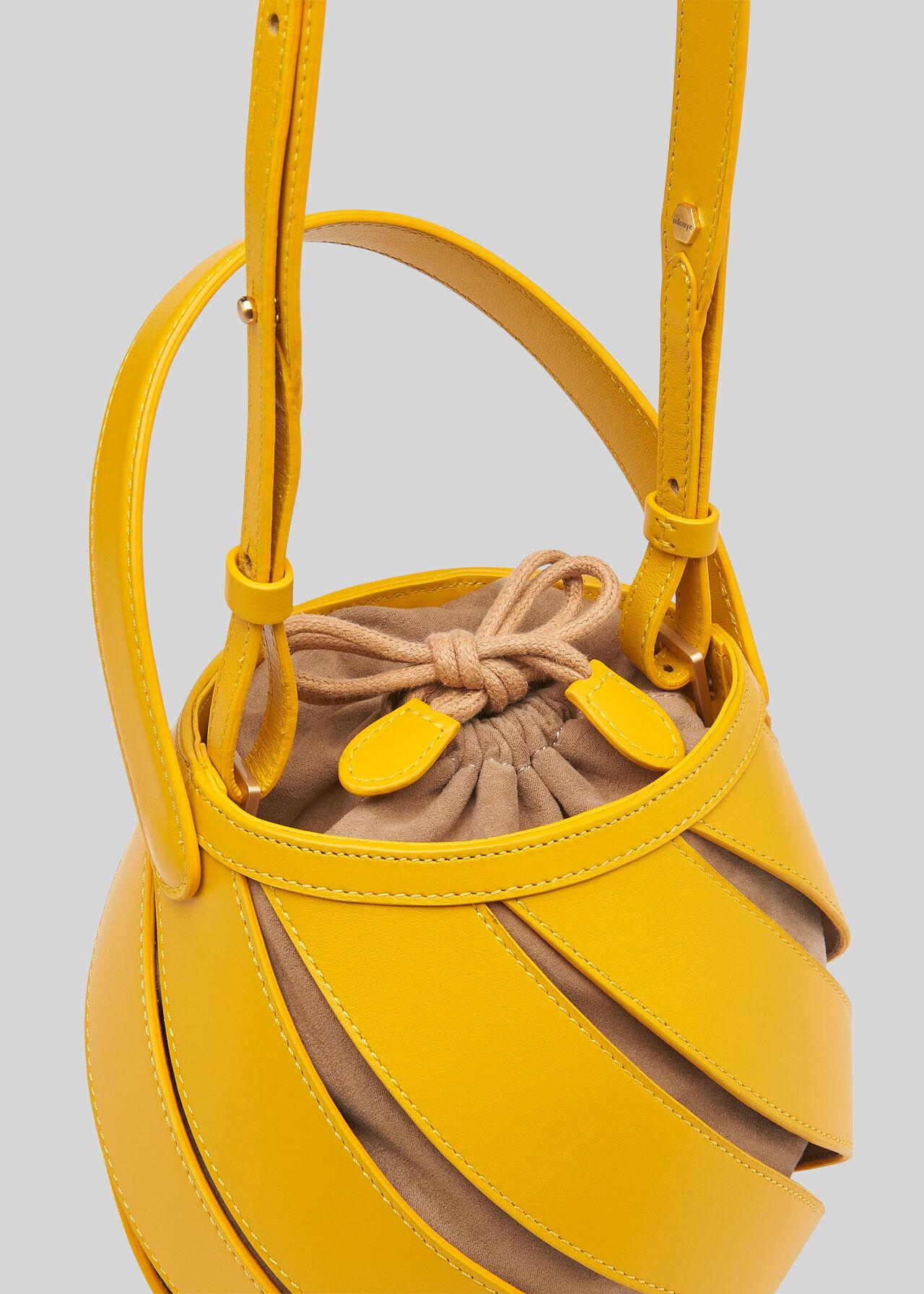 Whistles x Mlouye Helix Bag Yellow